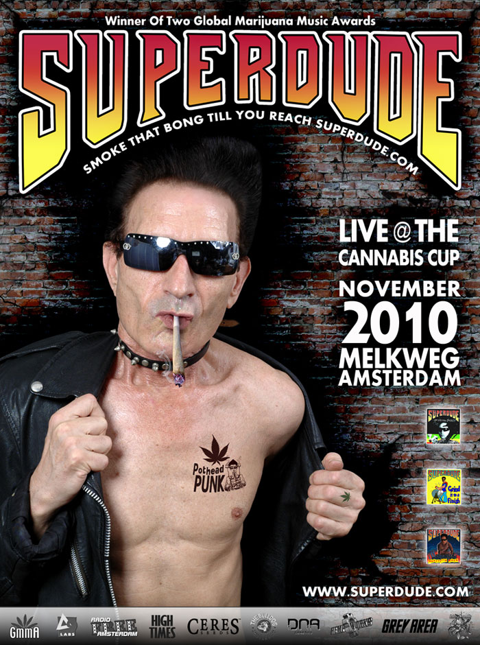 Superdude November 23rd 9PM Melkweg